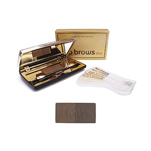 Fab Brows Duo Dark Brown / Chocolate