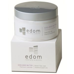 Edom Shea Body Butter - Patschuli-Lavendel
