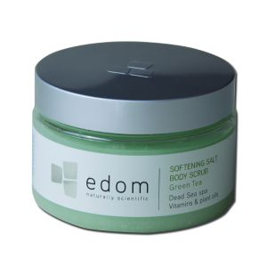 """edom Peeling- & Massage-Salz """"Grüner Tee"""""""