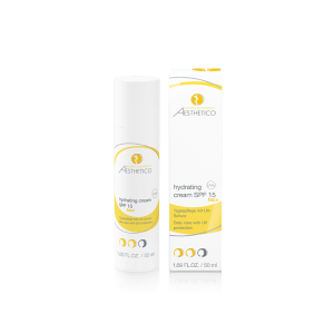 Aesthetico Hydrating Cream SPF 15,  50ml, Tagespflegecreme