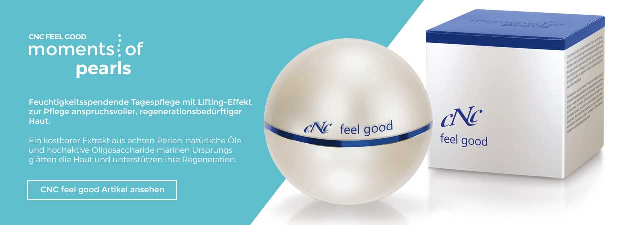 CNC feel good - Moments of Pearls