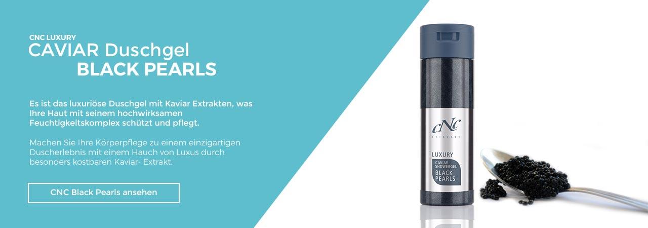 CNC Black Pearl Duschgel mit Kaviarextrakt