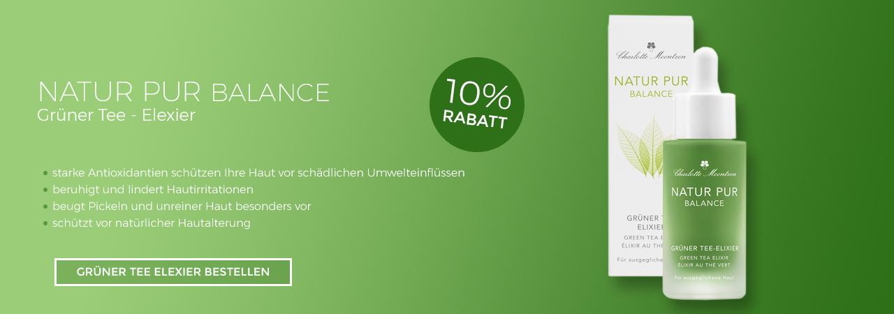 Charlotte Meentzen Natur Pur Balance Grüner Tee Elexier
