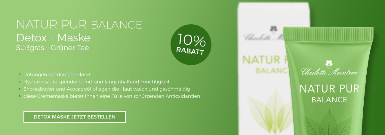 Charlotte Meentzen Natur Pur Balance Detox Maske